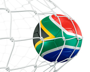 SouthAfricaFlagSoccerBall